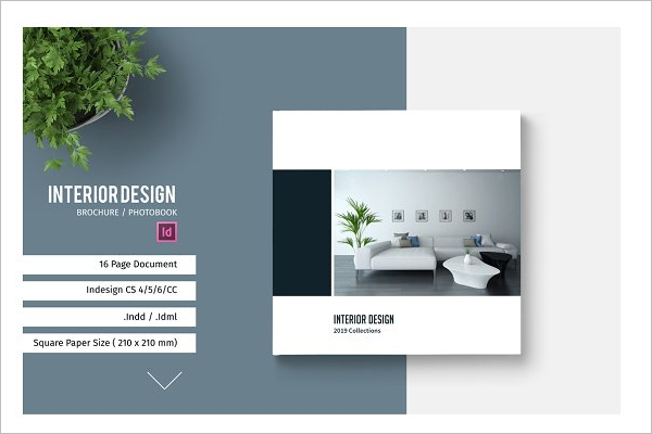 Simple Interior Design Brochure
