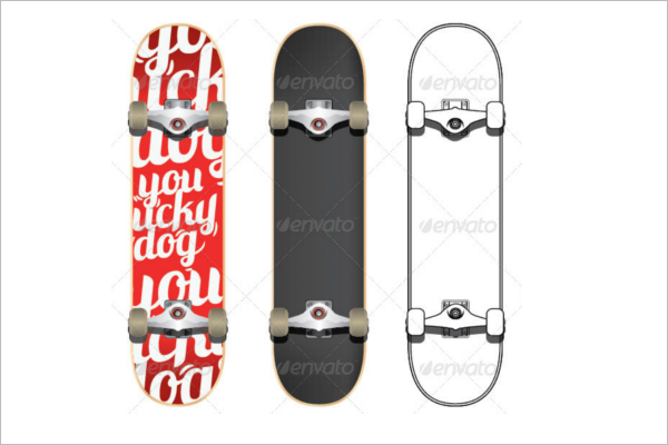 Skateboard Object Mock-up
