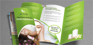Spa Brochure Templates