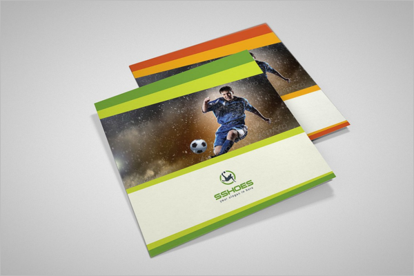 Sports Event Brochure Template