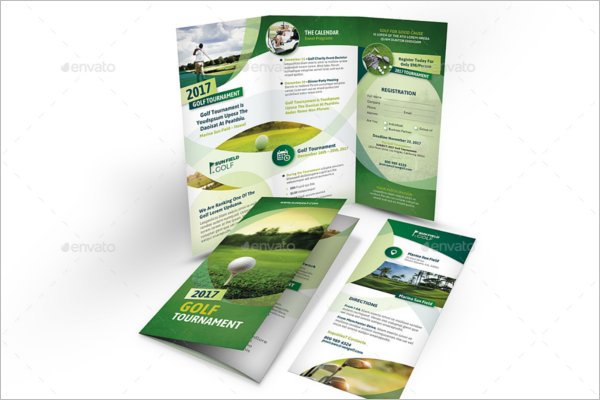 Sports Green Brochure Design