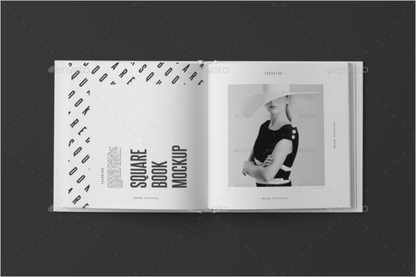 Spread Book Mockup