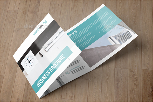 Square Business Brochure Design