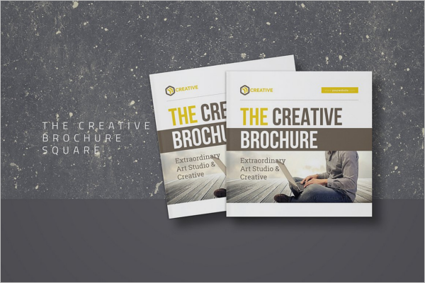 Square Creative Brochure Template