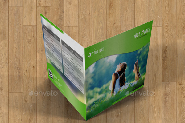 Square Yoga Brochure