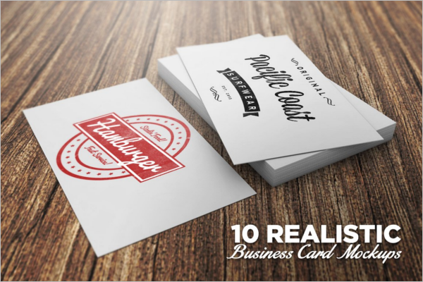 Stationary Business Card Mock-Up