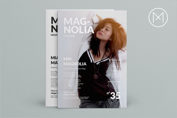StylishMagazine Brochure Template