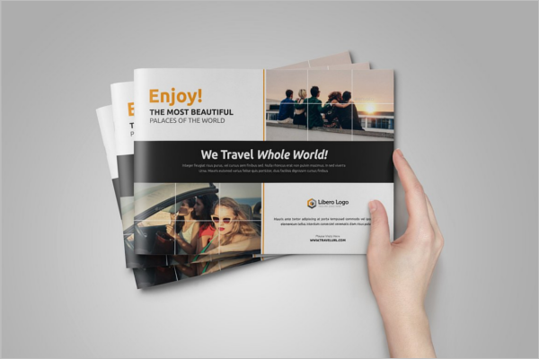 Summer Holiday Brochure Template