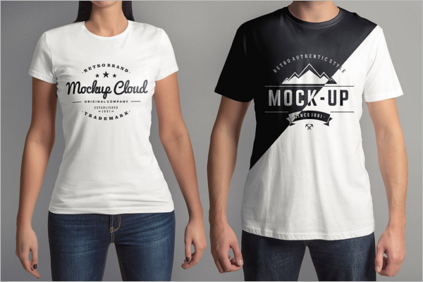 T-Shirt Mock-Up Set