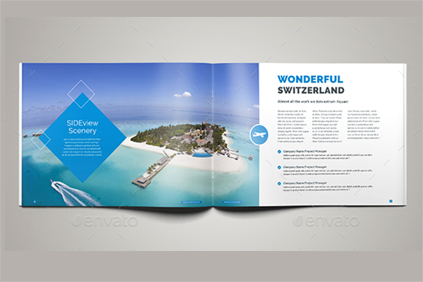 TRavel Trip Brochure Template