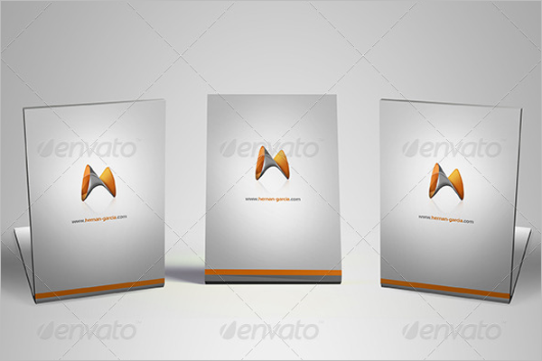 Table Tent Card Design Mockup