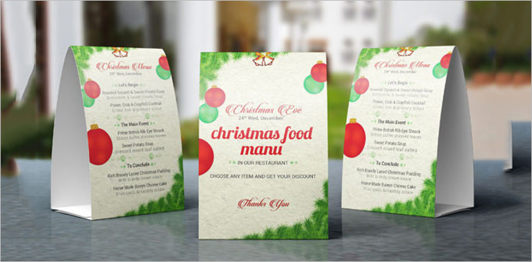 Table Tent Card Mockups