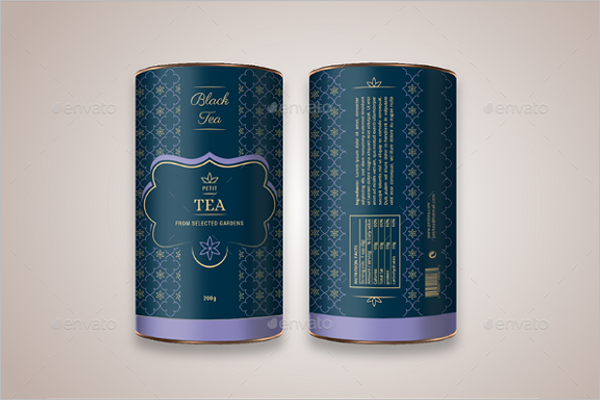 Tea Packaging Mockup Design