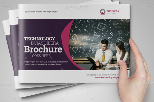 Technology Brochure Catalog Template