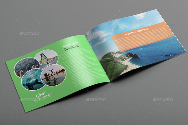 Travel Brochure PSD Template