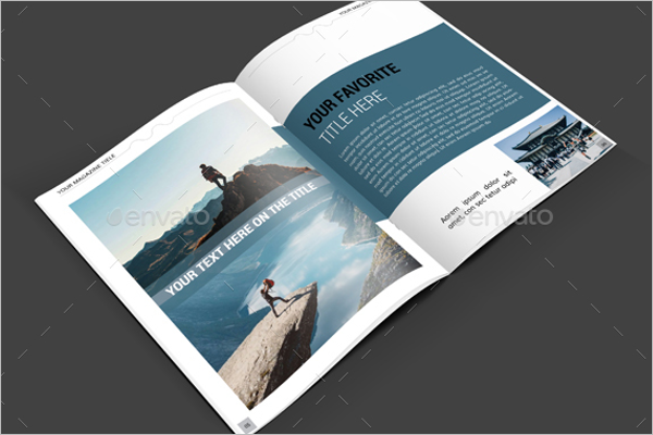 Travel Magazine Brochure Design