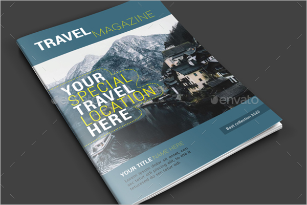 Travel Magazine Brochure Template