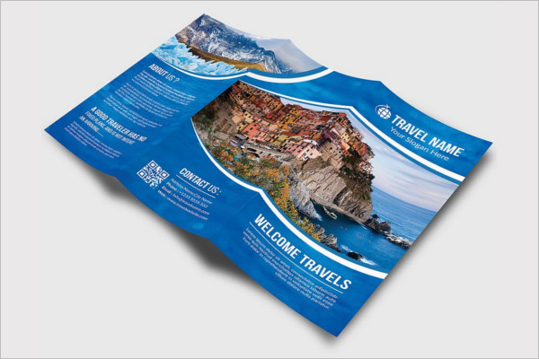 Travel Outting Brochure Template