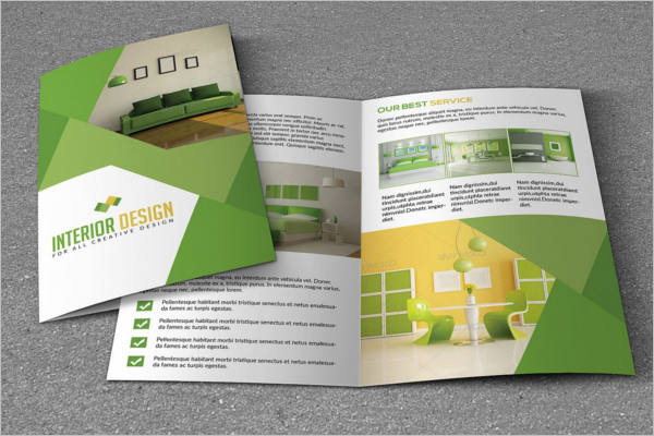 Trending Interior Brochure Template