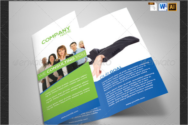 Tri-Fold Word Brochure Template
