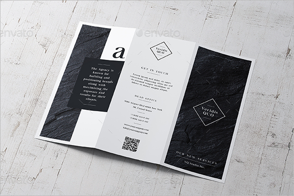 Trifold Advertising Brochure