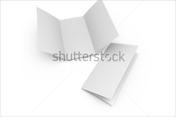 Trifold Blank Brochure Free