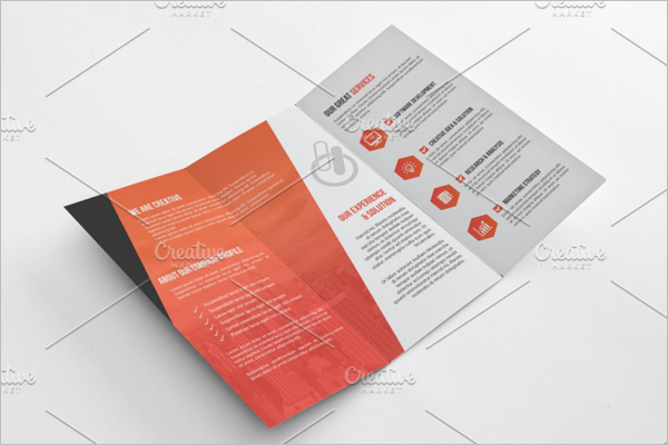 Trifold Creative Brochure