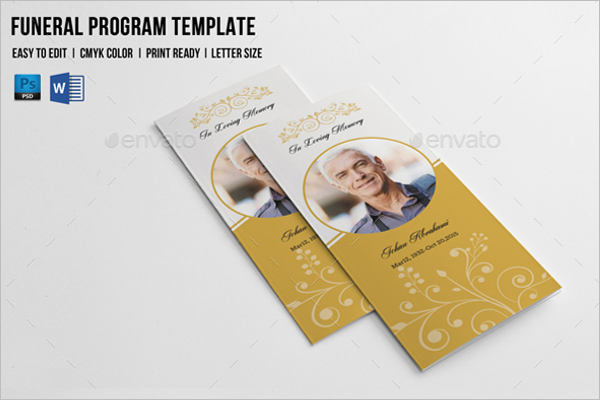 TrifoldFuneral Brochure Template