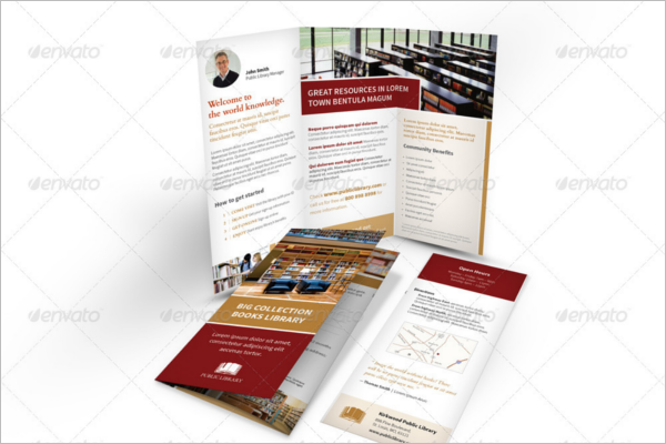 Trifold Library Brochure