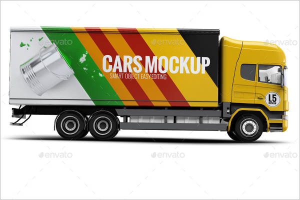 Truck Services Mockup
