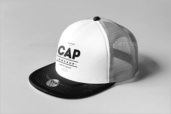 Trucker Cap Mockup Design