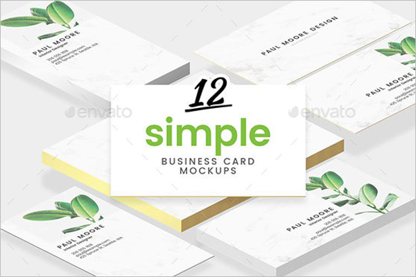 Universal Business Card Mock-Up