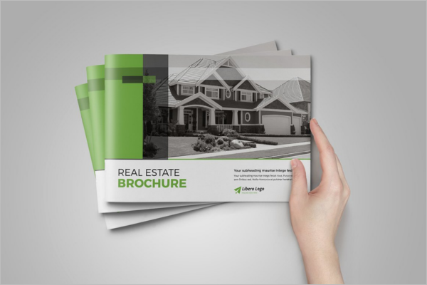 Vector Real Estate Brochure Template