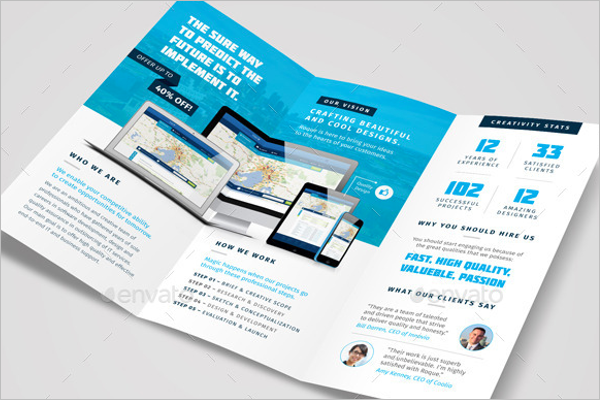 Web Design Brochure Design