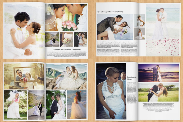 Wedding Brochure Template Indesign