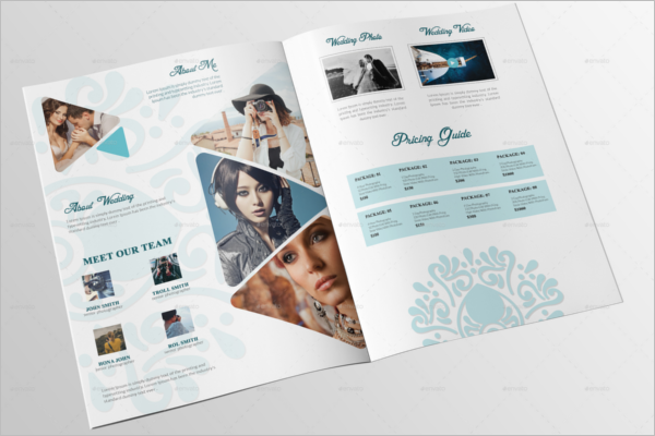 Wedding Portfolio Brochure Template