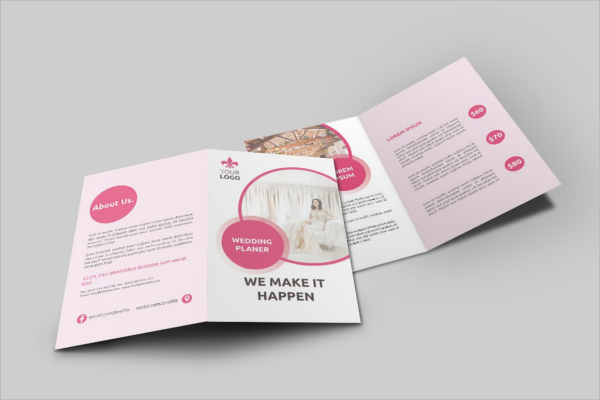Wedding Services Brochure Design