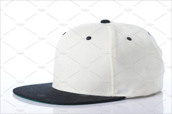 White Hat Mockup Design