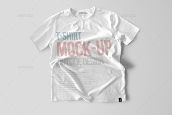 White T-Shirt Mock-Up
