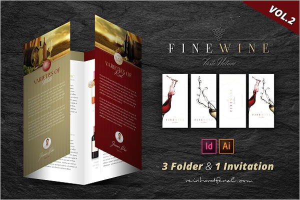 Wine Company Brochure
