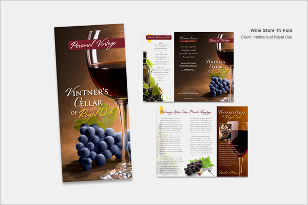 Wine Store Brochure Download