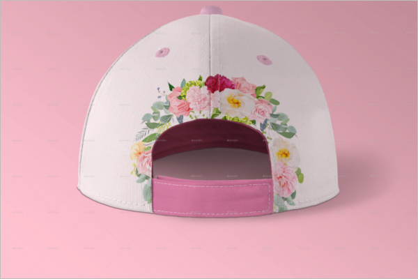 Women Cap Mockup Design