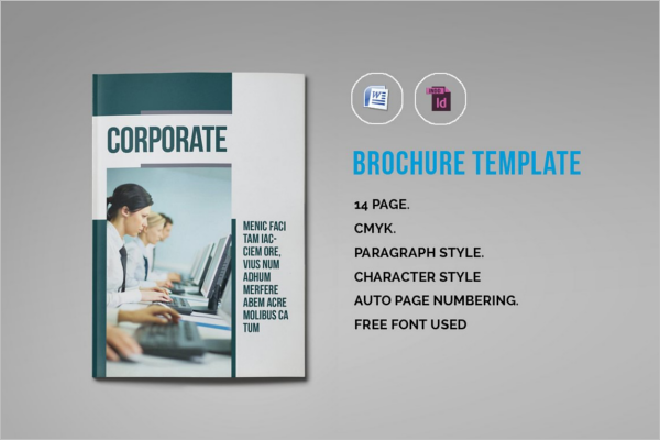 Word Brochure Template Illustrator