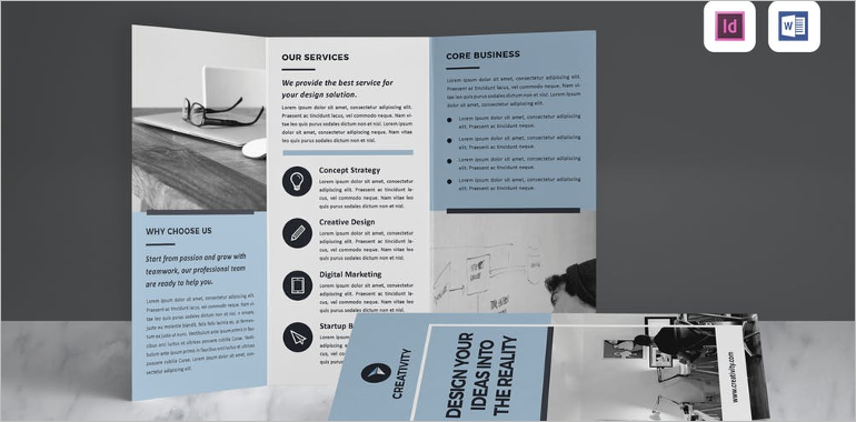 Word Brochure Templates