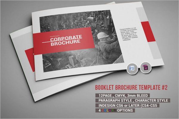 Word Document Brochure Template