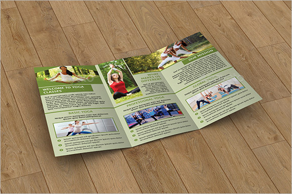 Yoga Center Brochure