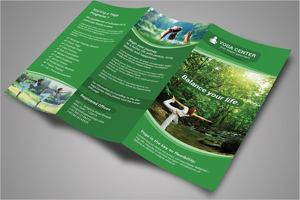Yoga Health Brochure