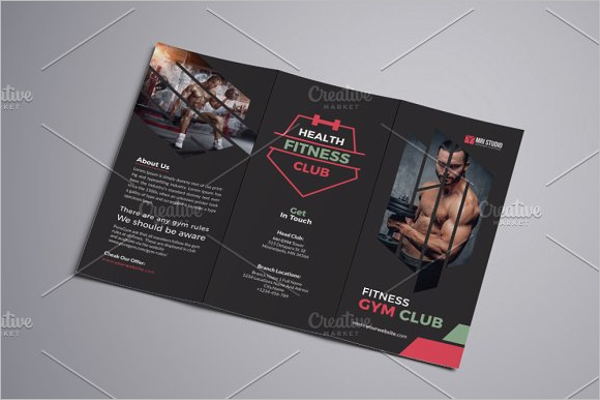 Yoga Marketing Brochure