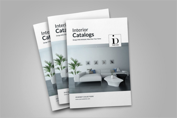 A4 Catalogue Mockup Design
