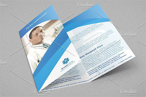 A4 Medical Brochure Design